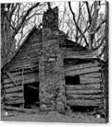 Original Old Home Acrylic Print