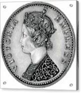 Original Silver Victoria Empress Acrylic Print