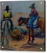 Original Western Artwork 23 Acrylic Print