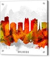 Orlando Florida Cityscape 15 Acrylic Print