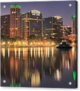 Orlando Sunrise Panorama Acrylic Print