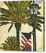 Ormond Beach Patriotic Acrylic Print