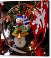 Ornament 1 Acrylic Print by Joyce StJames