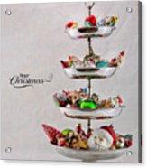 Ornament Compote Acrylic Print
