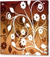 Ornamental 2 Warm Acrylic Print