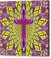 Ornamental Cross Acrylic Print