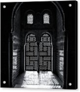 Ornate Alhambra Window Acrylic Print