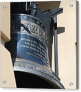 Ornate Bell Acrylic Print