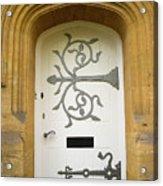 Ornate Door 1 Acrylic Print