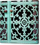 Ornate Doors Acrylic Print