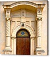 Ornate Entrance Acrylic Print by Christopher Holmes