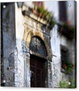 Ornate Italian Doorway Acrylic Print