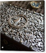 Ornate Wooden Chest Acrylic Print