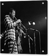 Ornette Coleman On Trumpet Acrylic Print
