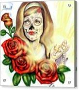 Oro Muerto Acrylic Print