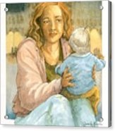 Orphans And Widows Acrylic Print