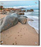 Orri Beach Acrylic Print
