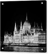 Orszaghaz At Night Acrylic Print