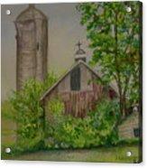 Orth Rd Barn Acrylic Print