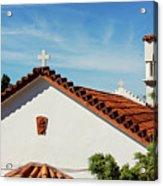 Orthodox Church In Loutraki, Greece Acrylic Print