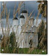 Orthodox Church In Mikulino Acrylic Print