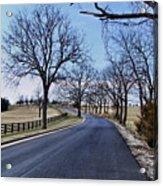 Osage County Road Acrylic Print