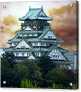 Osaka Castle Still Rules Japan Acrylic Print