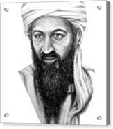 Osama Bin Laden Acrylic Print