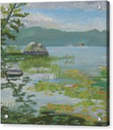 Oseetah Lake Cove Acrylic Print