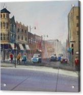 Oshkosh - Main Street Acrylic Print