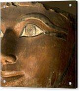 Osiris Statue Face Of Hatshepsut Acrylic Print