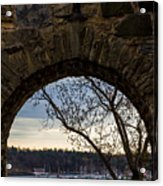 Oslo From Akershus Fortress Acrylic Print