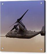 Osprey In Flight IIi Acrylic Print by Ricky Barnard