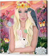 Ostara/spring Acrylic Print