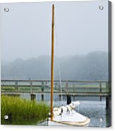 Osterville Sailboat Acrylic Print
