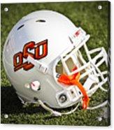 Osu Football Helmet Acrylic Print