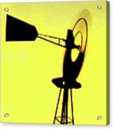 Otoe County Windmill Acrylic Print