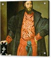 Ottaviano Grimani. Procurator Of San Marco Acrylic Print