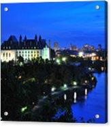Ottawa At Night Acrylic Print