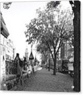 Ottawa Sidewalk Acrylic Print