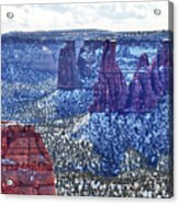 Otto Trail Overlook Acrylic Print