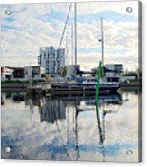 Oulu From The Sea 1  Acrylic Print