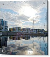 Oulu From The Sea 2 Acrylic Print