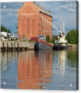 Oulu From The Sea 3 Acrylic Print