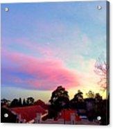 Our Cloud Sunset 12-08 Acrylic Print