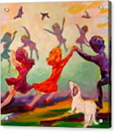 Our Dancing Children Acrylic Print