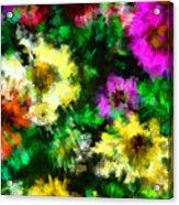 Our Garden 2 Acrylic Print