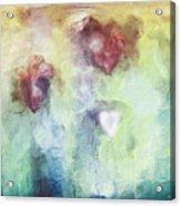 Our Hearts Acrylic Print