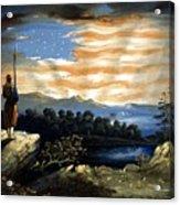 Our Heaven Born Banner Acrylic Print