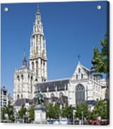 Our Lady Cathedral Antwerp Acrylic Print